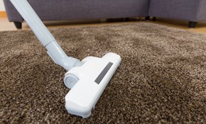 $199 for 5 Rooms of Professional Carpet Cleaning,...