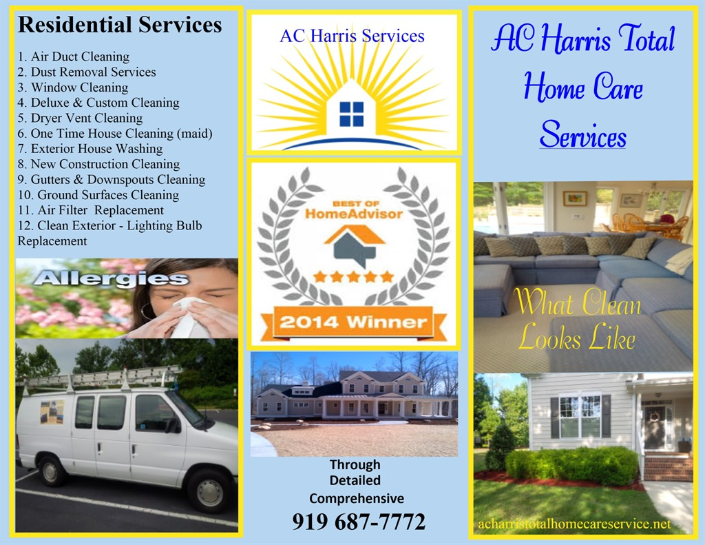 Ac Harris Total Home Care Services Wake Forest Nc 27587