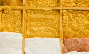 $1,100 for Blown-In Cellulose Insulation...