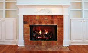 $175.50 for Fireplace Flue Sweep