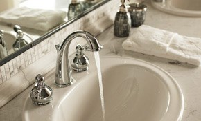 $105 for One Hour of Plumbing Services