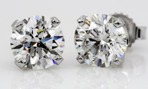 $250 for 14KW Martini Set Diamond Studs