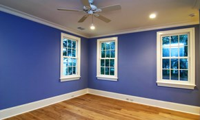 $618 for Two Rooms of Interior Painting