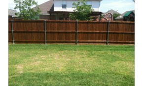 $3,700 Pre-Stained Cedar Fence Installation