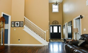 $599 for Three Rooms of Interior Painting