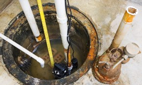 $464 for New Sump Pump Installed with Warranty