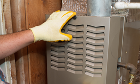$2,100 for a New Gas Furnace Installed