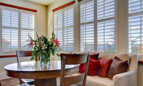 $1,000 for $1,050 Credit Toward Window Treatments...