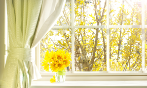 $2,000 for $2,100 Credit Toward Window Treatments...