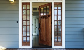 $499 for a Front Door Faux Wood Finish