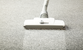 $130 for Four Rooms of Carpet Cleaning and...