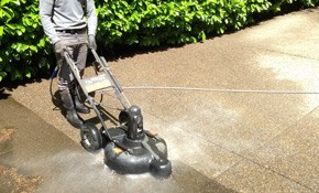 $95 for Driveway Pressure Washing