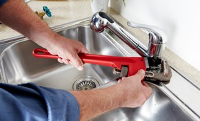 $108 Plumbing Service Call with 1 Hour of...