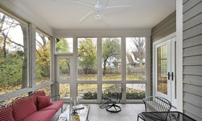 $300 for $400 Toward Screened In Porch Installation