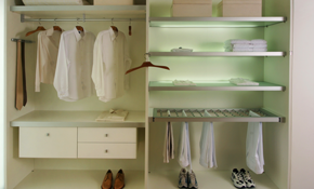 $485 for 6 Hours of Bedroom Closet Organizing