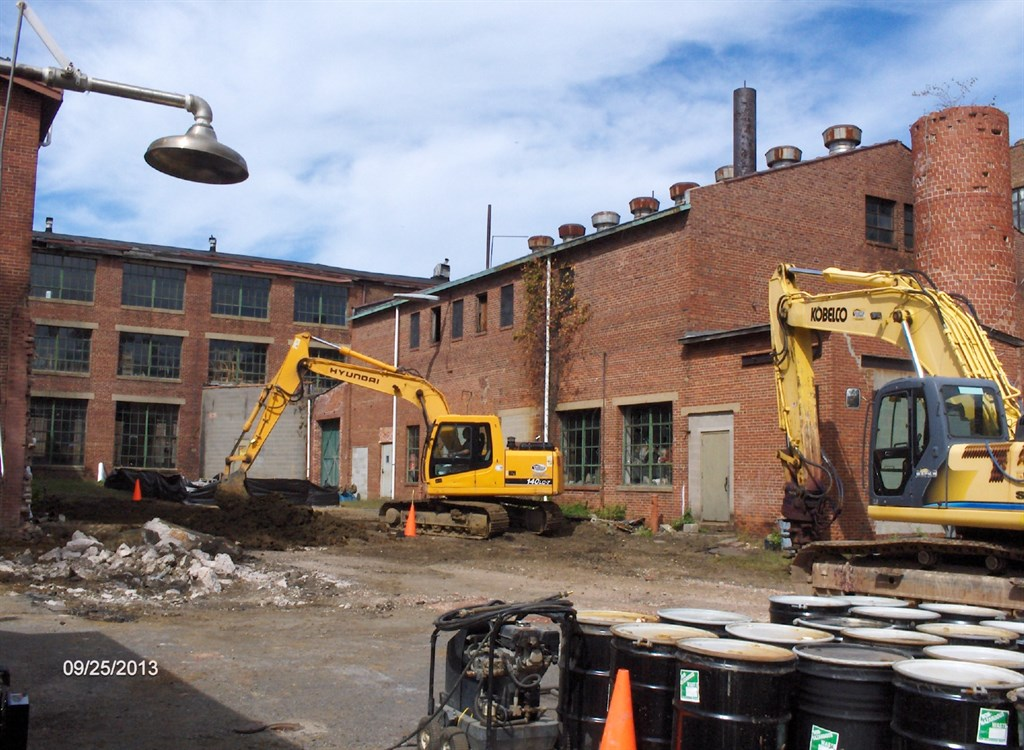 Underground oil tank removal for commercial business