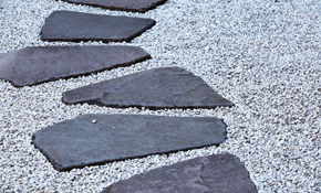 $2,900 for Paver Stone Patio or Walkway Delivered...