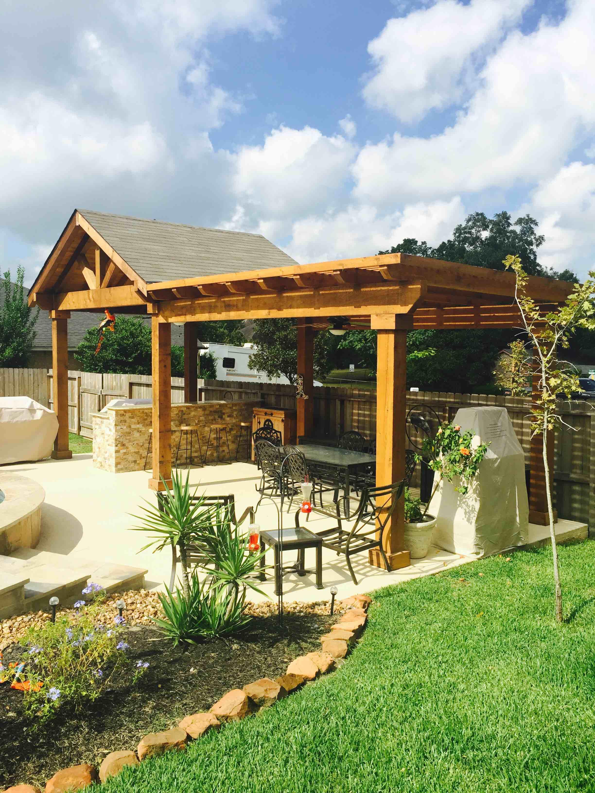 Backyard Paradise: Magnolia, TX 77354