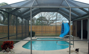 $125 for Pool Enclosure Cleaning