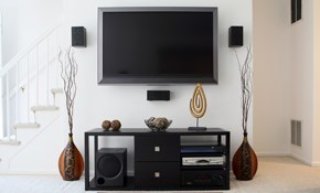 $185 for Flat Panel TV Bracket and Installation