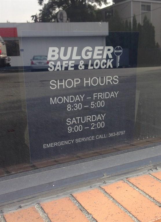Bulger Safe Amp Lock Seattle Wa 98125 Angies List