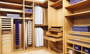 $1,350 for $1,500 Worth of Custom Closets