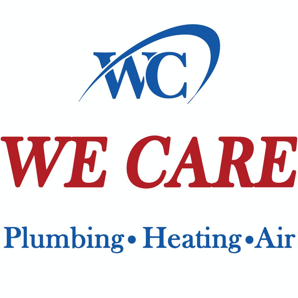 We Care Plumbing Heating and Air Logo