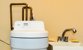 $38 for Water Softener Inspection, Check,...