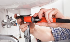 $95 Plumbing Service Call Plus One Hour Labor