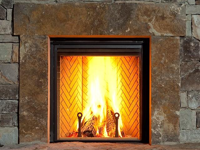 Renaissance Rumford Wood Fireplace