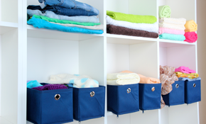 $119 for 4 Hours of Professional Home Organizing