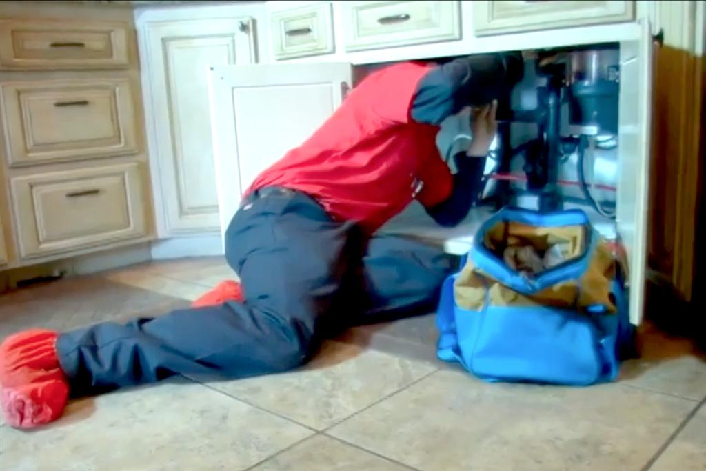 Plumbing repair and installation