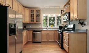 $329 for Kitchen Cabinet Painting or Staining