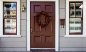 $299 for a Custom Front Door Refinishing...