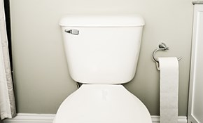 $117 for a Toilet Tune-Up and Home Plumbing...