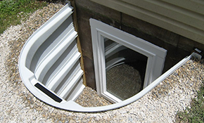 $3,500 Installation of an Egress Window