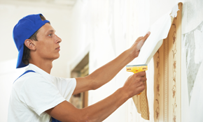 $99 for 2 Hours of Wallpaper Removal or Painting
