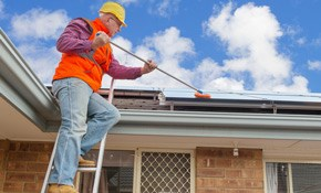 $379 Roof and Gutter Cleaning with Organic...