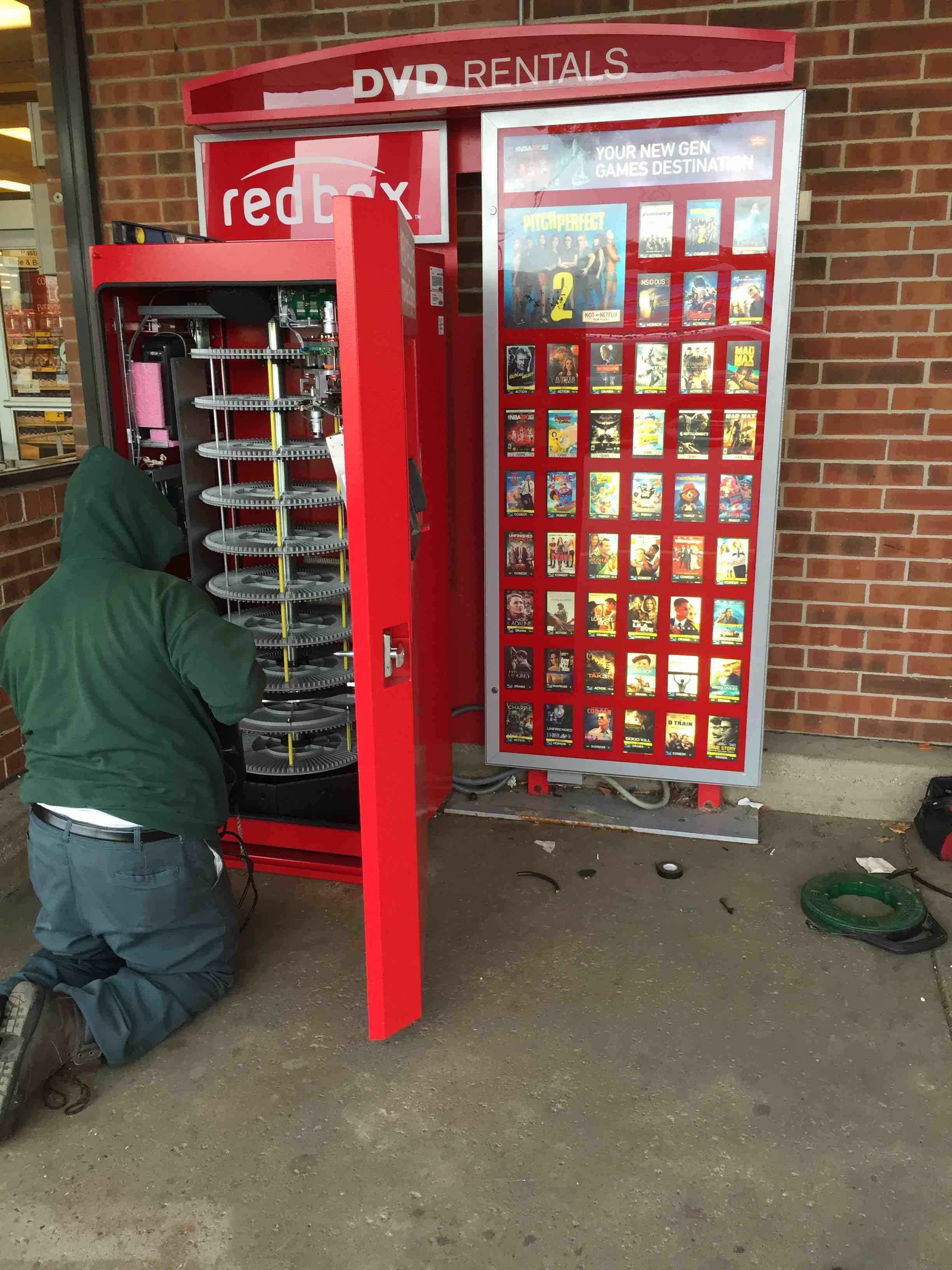 Red Box repair job
