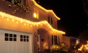 $245 for up to 2 Hours of Holiday Lighting...