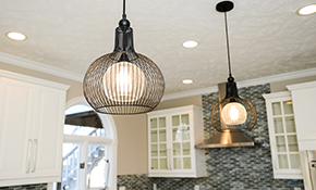 $495 for Four New Recessed Lights with a...