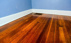 $450 for 250 Square Feet of Floating Hardwood...