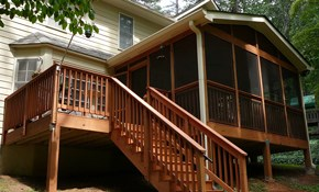 $720 for $800 Toward Deck Installation
