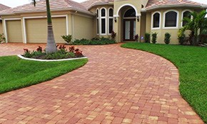 $700 for Brick Pavers Cleaning and Sealing...