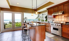$500 for $550 Credit Toward Any Kitchen Remodeling...