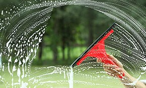 $135 for Basic Window Cleaning Package