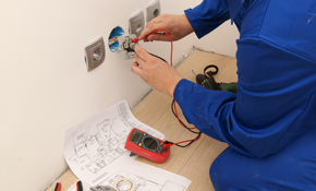 $155 for 2 Hours of Electrical Install Labor