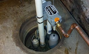 $409 Sump Pump Replacement