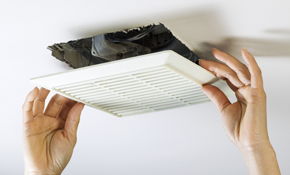 $160 for Bath Exhaust Fan Replacement Labor