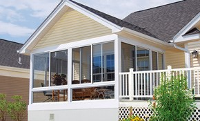 $5,846 to Enclose a Porch with 8' x 8' 3-Wall,...